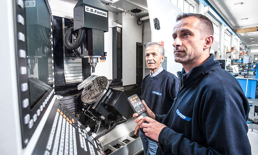 CAM Lavorazioni meccaniche CNC - La nostra storia